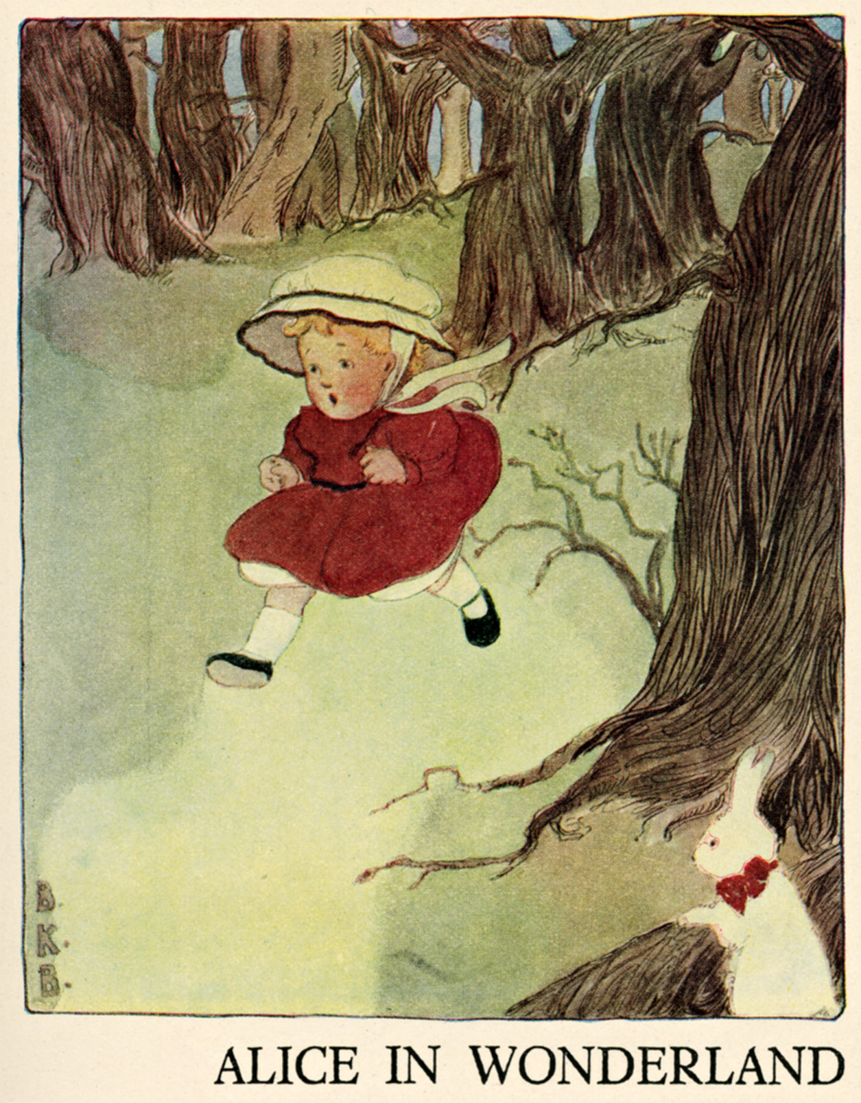 Alice In Wonderland - Bonnibel Butler