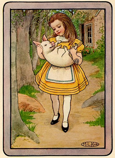 Maria Kirk Alice In Wonderland