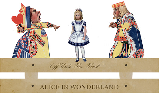 Alice In Wonderland Paper Toy