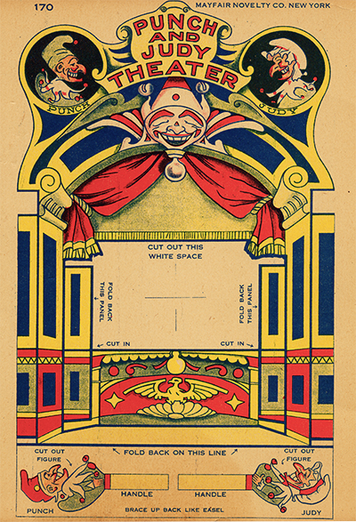 Punch and Judy Toy Theater