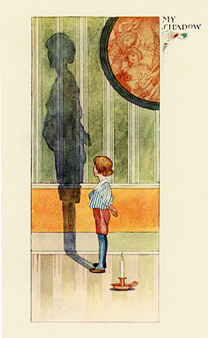My Shadow illustrated by Charles Robinson