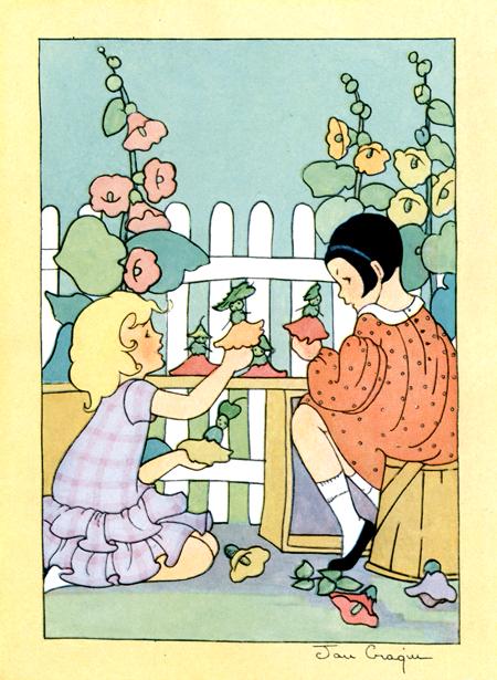 Sing, Little Birdie - Illustration by Jan Cragin