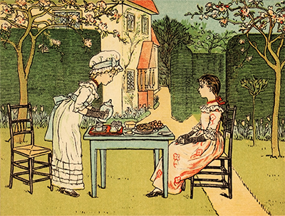 Under The Window illustration by Kate Greenaway