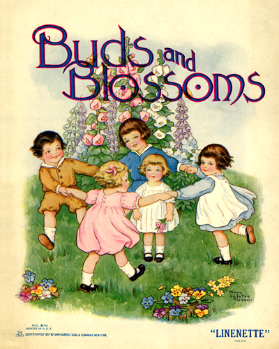 Buds and Blossoms by Mary Lafetra Russell