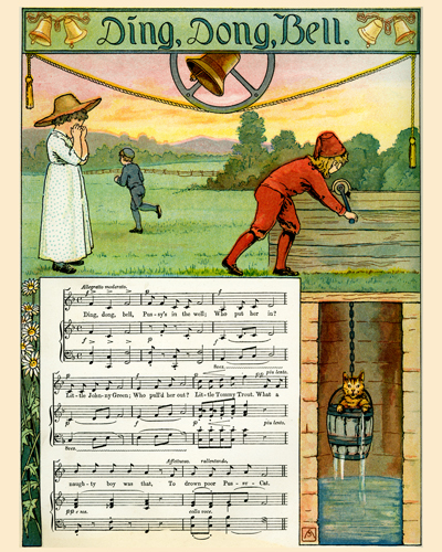 Mother Goose Melodies illustrated by F. Schuyler Mathews