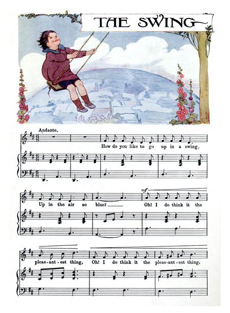 The Swing - Margaret Tarrant