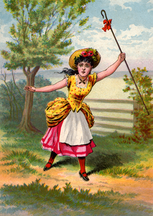 Little Bo-Peep McLoughlin - 1896