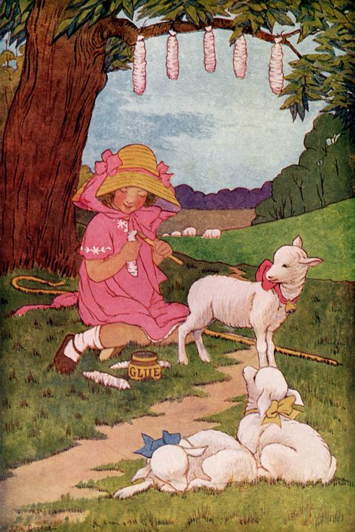 Mary Had a Little Lamb illustrated by Julia Greene