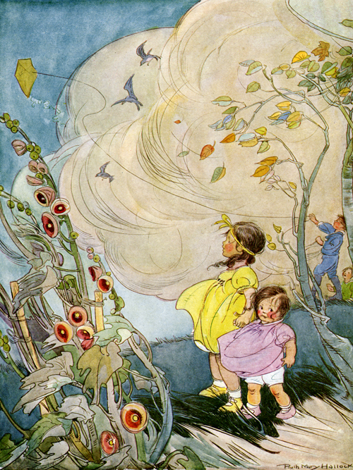 The Wind - Illustrated by Ruth Hallock