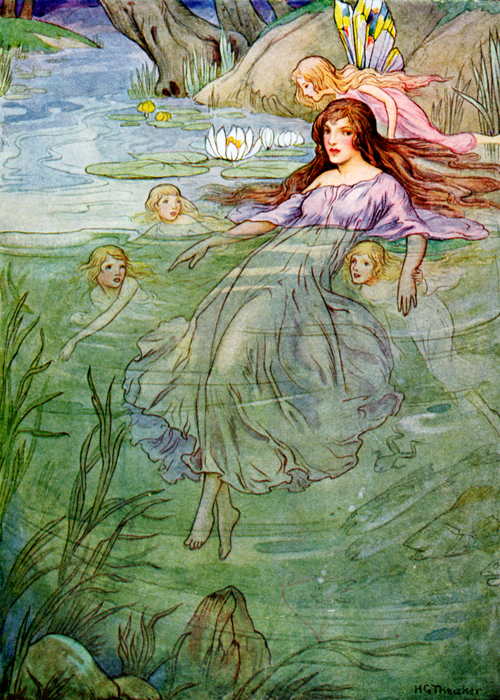 The Water Babies Illustrated by Harry Theaker