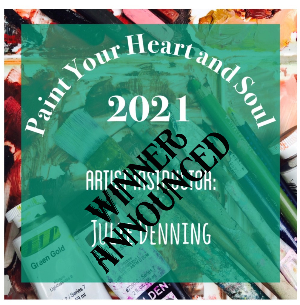 Paint Your Heart and Soul 2021 Winner Announced
